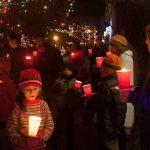 Candlelight walk