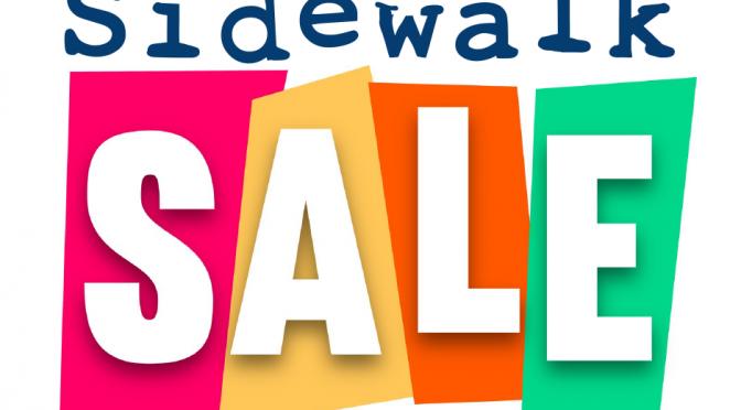 Sidewalk Sale – Aug 27