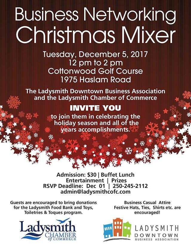Chamber Christmas Mixer Invite 2017