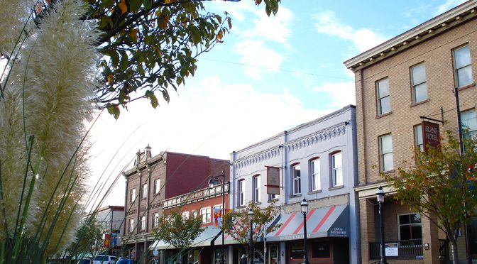 Ladysmith's Historic First Avenue Wins National Great Street Title