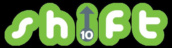 10 Shift logo