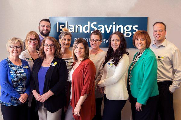 Island Savings team