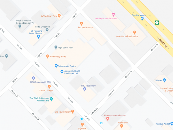 First Avenue map