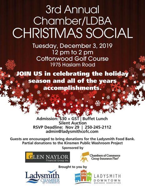 Chamber Christmas Mixer Invite 2019